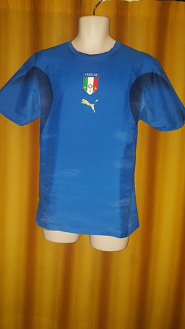 2005-07 Italy Home Shirt Size Small