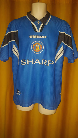 1996-98 Manchester United 3rd Shirt Size Medium