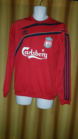 2009-10 Liverpool Training Sweatshirt Size 38-40