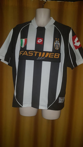 5511df50b8a 2002-03 Juventus Home Shirt Size 38 40 – Forever Football Shirts