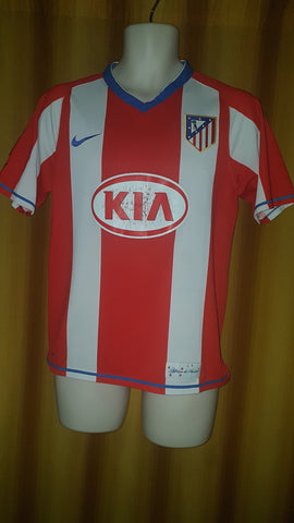 2007-08 Atletico Madrid Home Shirt Size Small