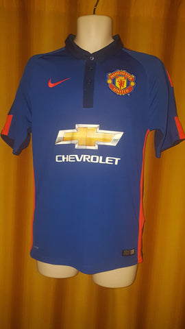 2014-15 Manchester United 3rd Shirt Size Small - Di Maria #7