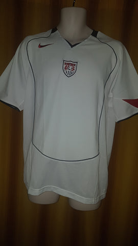 2004-05 USA Home Shirt Size Small