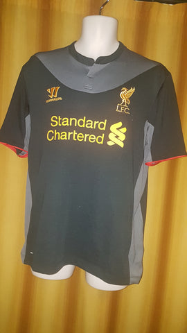 2012-13 Liverpool Away Shirt Size Large - Suarez #7
