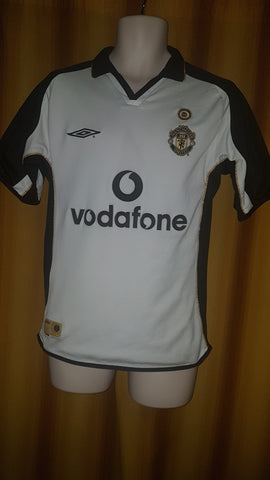 2001-02 Manchester United Centenary Away & 3rd Shirt Size Small