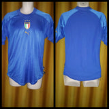 2004-05 Italy Home Shirt Size Small