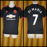2015-16 Manchester United 3rd Shirt Size Small - Di Maria #7