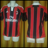 2012-13 AC Milan Home Shirt Size Small - Forever Football Shirts