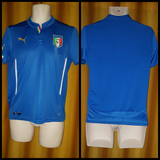 2014-15 Italy Home Shirt Size 32-34
