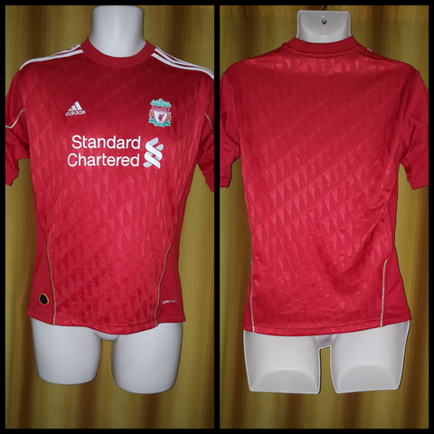 2010-12 Liverpool Home Shirt Size Small - Forever Football Shirts