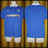 2010-11 Rangers Home Shirt Size Small - Forever Football Shirts