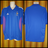 2002-03 France Home Shirt Size XL