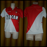 2013-14 AS Monaco Home Shirt Size Extra Small
