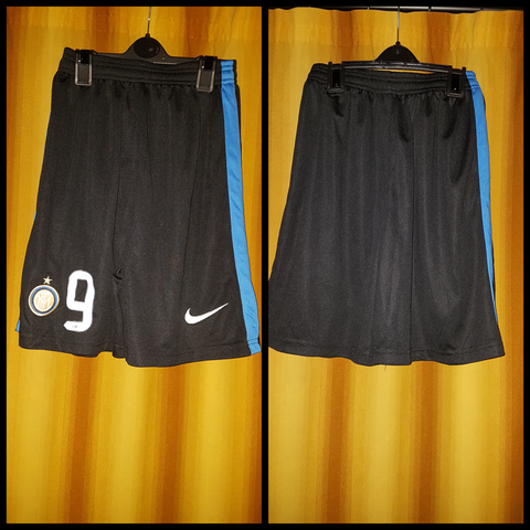 2015-16 Inter Milan Home Shorts Size Medium - #9