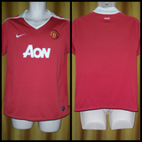 2010-11 Manchester United Home Shirt Size Medium