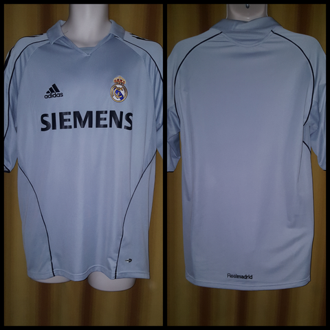 7f410051a78 2005-06 Real Madrid 3rd Shirt Size Medium – Forever Football Shirts
