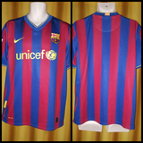 2009-10 Barcelona Home Shirt Size Large - Forever Football Shirts
