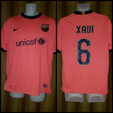 2009-10 Barcelona Away Shirt Size Medium – Xavi #6 - Forever Football Shirts