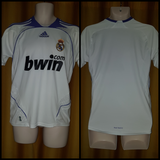 2007-08 Real Madrid Home Shirt Size 32-34