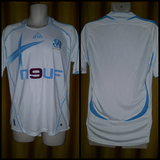 2006-07 Olympique de Marseille Home Shirt Size Medium