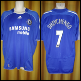 2006-08 Chelsea Home Shirt Size XL - Shevchenko #7 - Forever Football Shirts