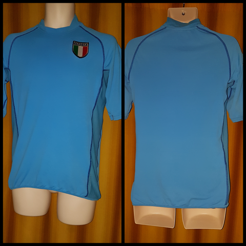 2002-03 Italy Home Shirt Size Small - Forever Football Shirts