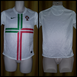 2012 Portugal Away Shirt Size 12-13 Yrs