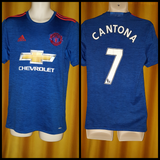 2016-17 Manchester United 3rd Shirt Size Small - Cantona #7