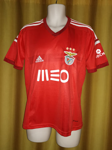 6f51397000d 2014-15 Benfica Home Shirt Size Small – Forever Football Shirts