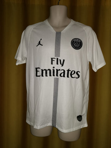 2e17edab3180 2018-19 Paris Saint Germain Champions League Away Shirt Size Medium ...