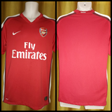 2008-10 Arsenal Home Shirt Size Medium - Forever Football Shirts