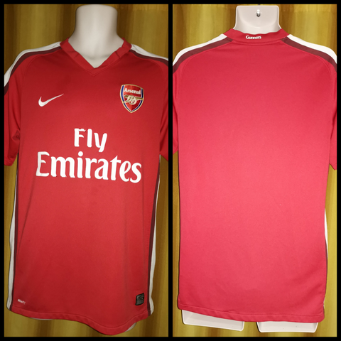 2008-10 Arsenal Home Shirt Size Medium