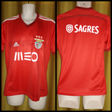2014-15 Benfica Home Shirt Size Small