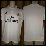 2018-19 Real Madrid Home Shirt Size Small - Forever Football Shirts