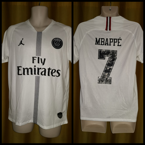 2018-19 Paris Saint Germain Champions League Away Shirt Size Medium - Mbappe #7 (BNWT)