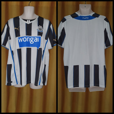 2013-14 Newcastle United Home Shirt Size Extra Large