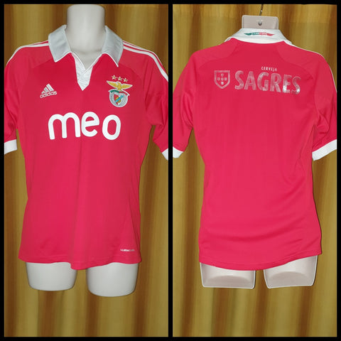2012-13 Benfica Home Shirt Size Small