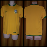 2006-07 Brazil Home Shirt Size Small - Forever Football Shirts