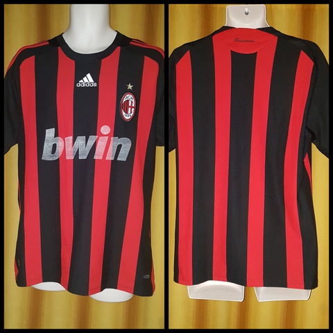 2008-09 AC Milan Home Shirt Size Large