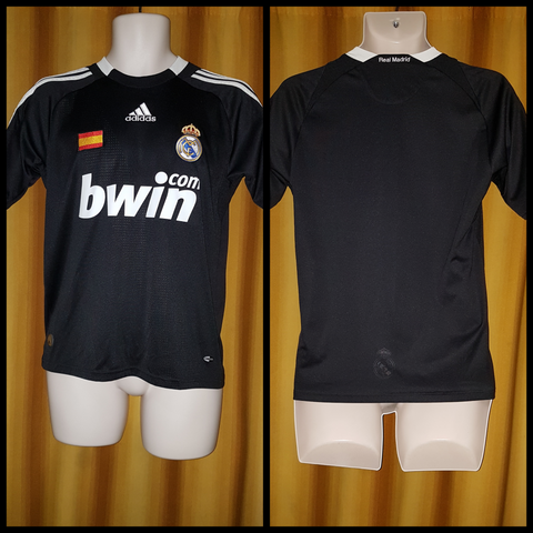 2008-09 Real Madrid 3rd Shirt Size 32-34