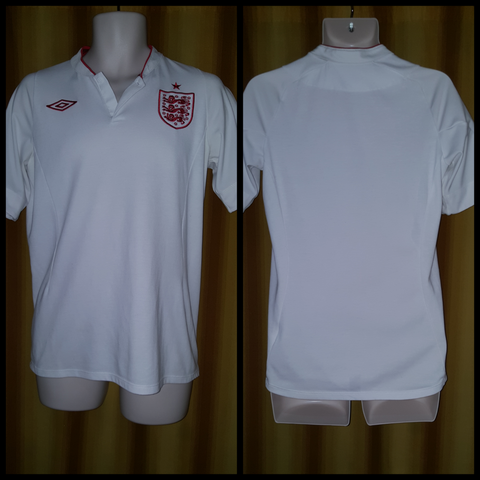 2012 England Home Shirt Size 38 (BNWT) - Forever Football Shirts