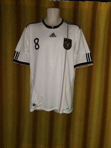 57e53c1d8 2009-11 Germany Home Shirt Size Large - Ozil  8 – Forever Football Shirts