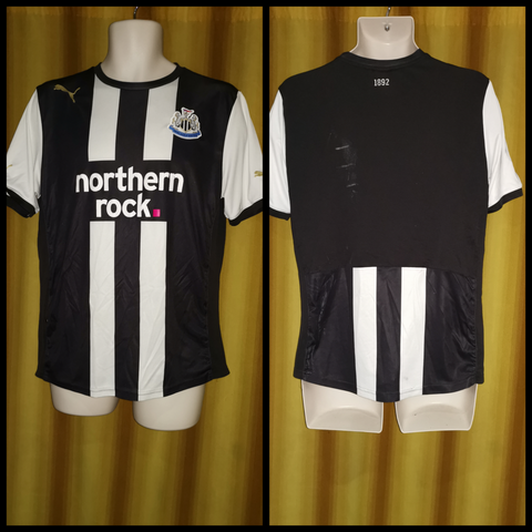 2011-12 Newcastle United Home Shirt Size Medium