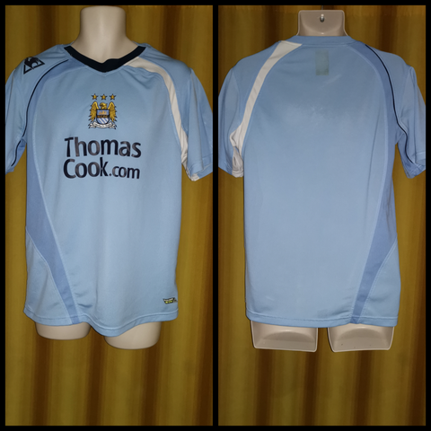 2008-09 Manchester City Home Shirt Size Medium