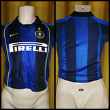 2001-02 Inter Milan Home Shirt Size Child Small (8 Years Old)