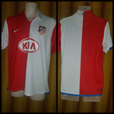 2006-07 Atletico Madrid Home Shirt Size Medium