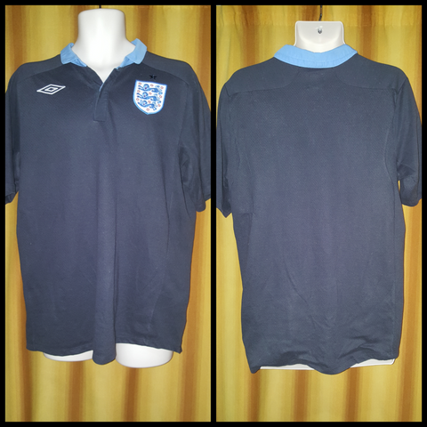 2011-12 England Away Shirt Size 40 - Forever Football Shirts