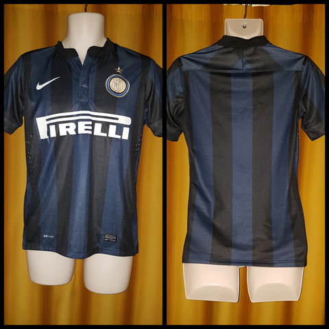2013-14 Inter Milan Home Shirt Size Small