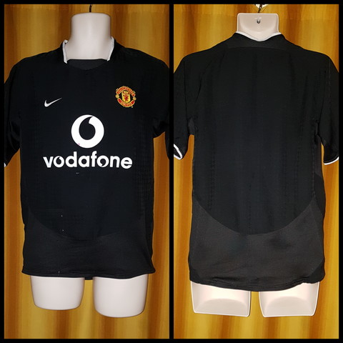 2003-05 Manchester United Away Shirt Size Small