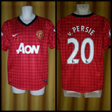 2012-13 Manchester United Home Shirt Size Medium - V. Persie #20
